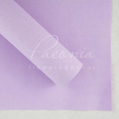 Папір Флористичний водостійкий листовий 54см*78см щільність 120г/м кв Мішковина лавандовий
