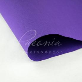 Папір для пакування квітів водостійкий щільний листовий мішковина бузковий 54см * 78см