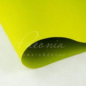 Папір Флористичний водостійкий листовий 54см*78см щільність 120г/м кв Мішковина трав'яний