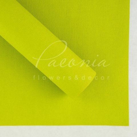 Папір Флористичний водостійкий листовий 54см*78см щільність 120г/м кв Мішковина травяний
